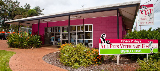 All Pets Veterinary Hospital Darwin